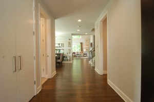 Somerset Hallway to Kitchen / Living Area