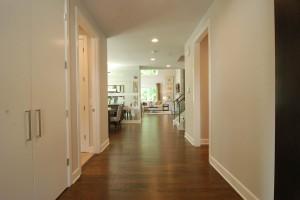 Somerset Hallway to Kitchen / Living Area