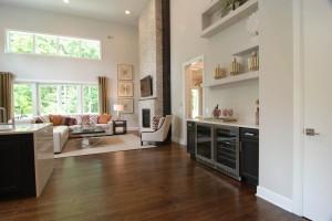 Somerset Kitchen Through Living Room