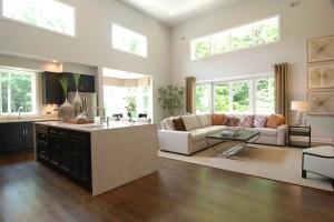 Somerset Kitchen / Living Area